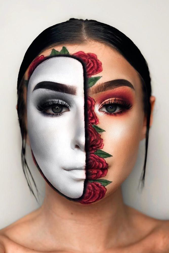 42 Newest Halloween Makeup Ideas To Complete Your Look Creative