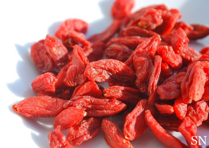 Goji Berries for Goji-Go Trail Mix | Sincerely Nourished