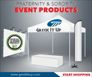 greekitup❖ Official Licensed Vendor ❖ Fast Turnaround ❖ FREE UPS Ground Shipping ❖ www.greekitup.com #greekitup #gogreek #officiallicensedproduct #sororitylife #fraternitylife