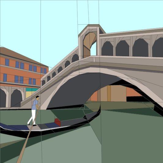 April BOM - Venice Paper Piecing Patterns quiltartdesigns,blogspot.com