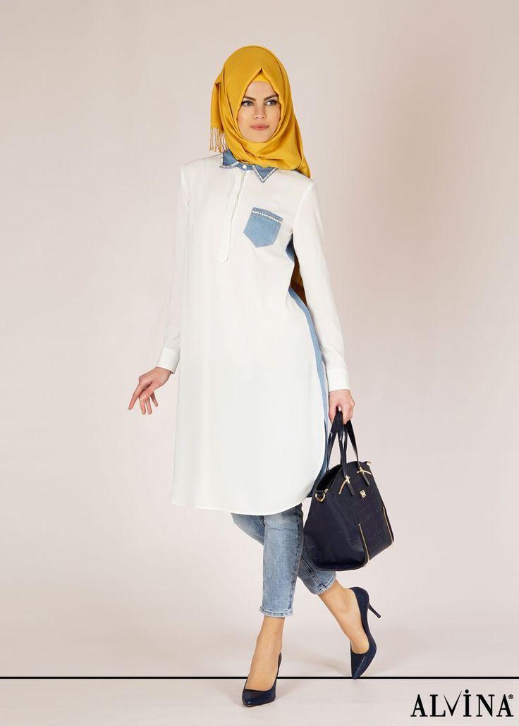 ALVİNA '15 Yaz Kreasyonu 4660 Benin Tunik, www.alvinaonline.com'da.. #alvina #alvinamoda #alvinaforever #hijab #hijabstyle #tesettür #trend #tunik #fashion #yenisezon #ilkbahar #yaz