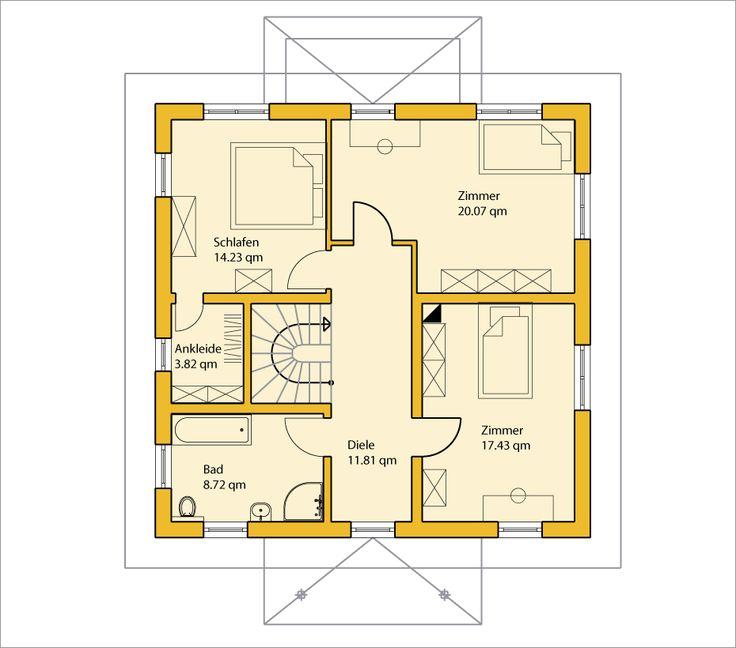 die besten 17 bilder zu grundrisse auf pinterest haus. Black Bedroom Furniture Sets. Home Design Ideas
