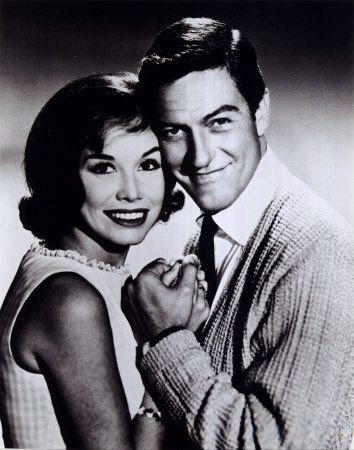 Mary Tyler Moore and Dick Van Dyke in The Dick Van Dyke Show