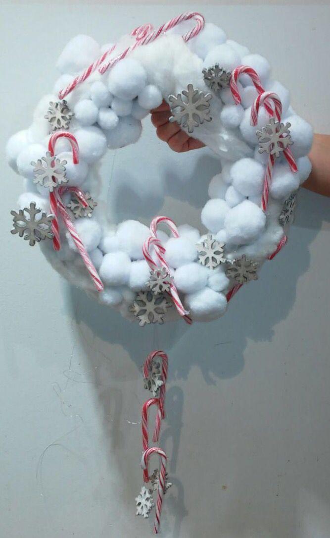 #adventskranz #malanders #diy #weihnachten #advent #winter #deko #floristik #living #christmas #wreath #snow