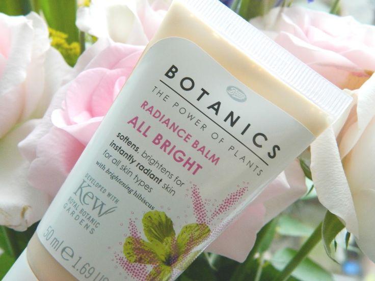 Radiant Skin in a Tube! Boots Botanics Radiance Balm #bbloggers #beauty #skincare