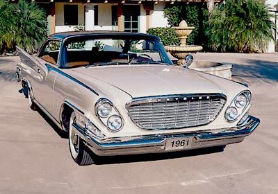 1961 Chrysler New Yorker hardtop coupe. Classic beauty!