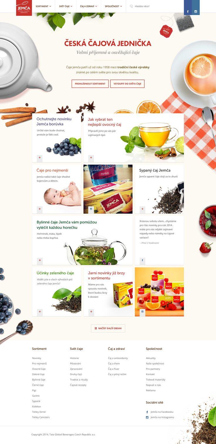 Jemca Tea Homepage B b...