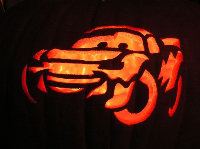 Lightning McQueen, Cars pumpkin #EasyNip