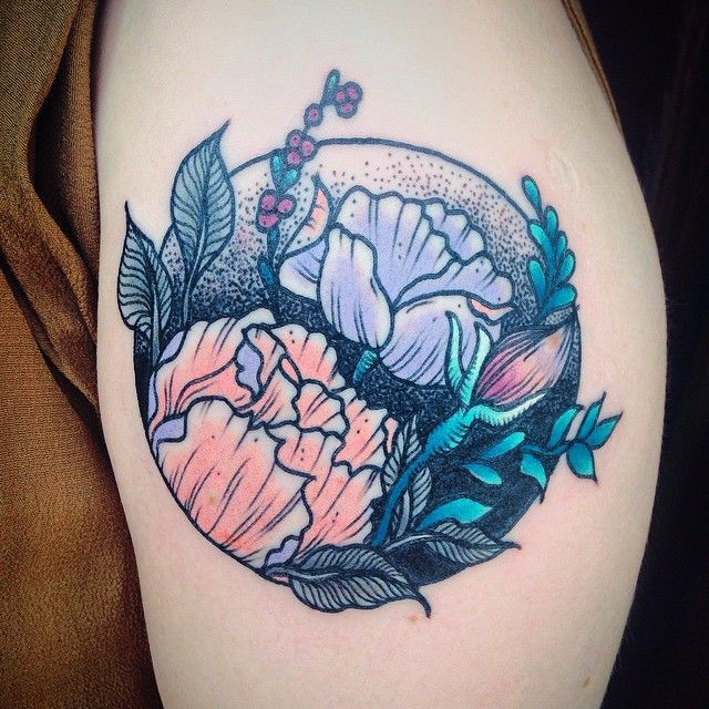 Best 25+ Circular Tattoo Ideas On Pinterest