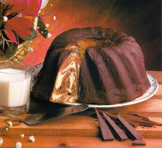 Kuglóf márványosan recept - édességek kategória - Receptkalauz.hu - receptek, koktélok, finom ételek
