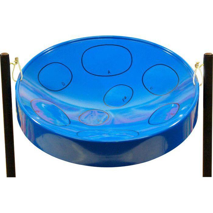 Panyard Jumbie Jam Steel Drum - Blue