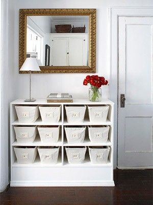 Great idea for my daughters old dresser!!!  Cute and functional!