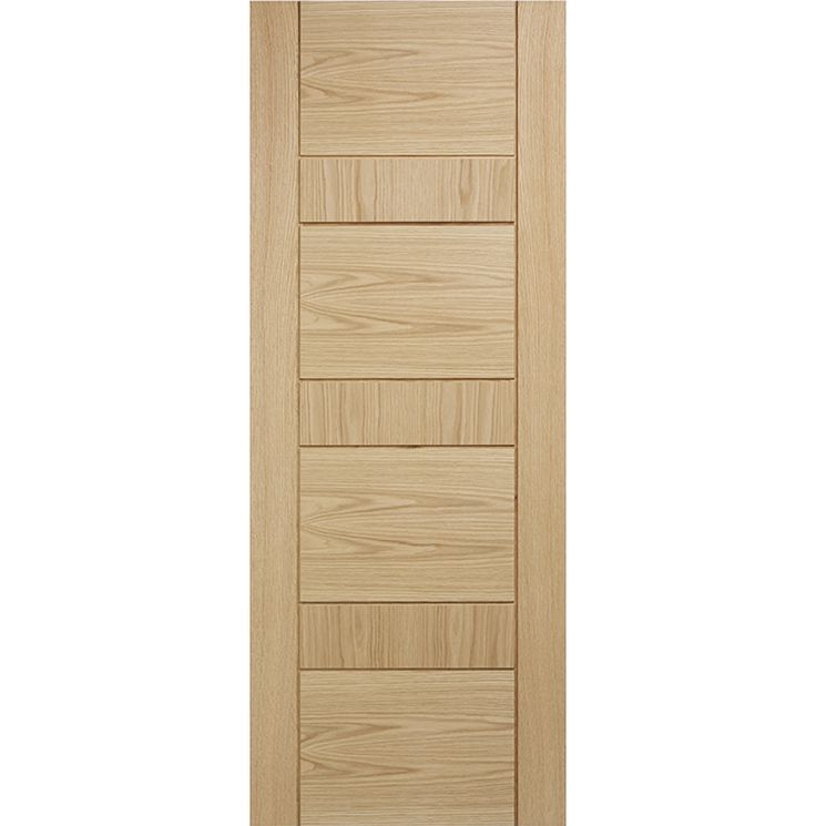 Edmonton Oak Fire Door Fully Finished
