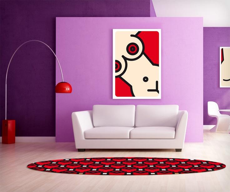 'Composizione con rose rosse' Computer art Unlimited/2012