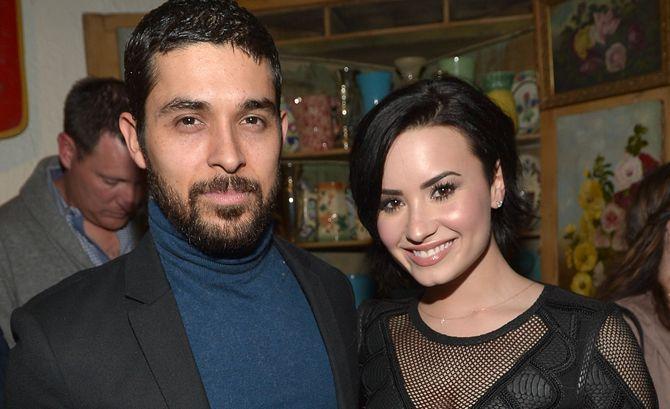 Wilmer Valderrama Supports Demi Lovato's Cosmo Cover Slam