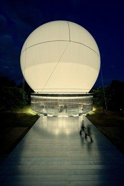 Serpentine Gallery Pavilion 2006 by Rem Koolhaas and Cecil Balmond, with Arup