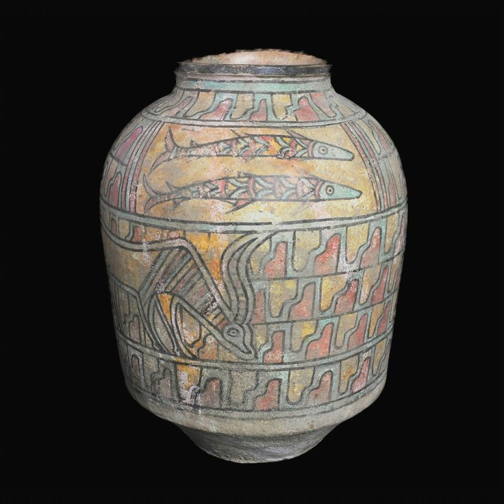 Large Indus Valley Polychrome Jar, Nal Culture, Period II, C. 3200-2700 BCThis is a very rare jar from the small Nal Culture that flourished in the northwest region of the Indus Valley. The Nal Culture, along with the Amri, produced some of the finest pottery ever made during the Indus Valley Civilization. While increasingly more and more people have heard of the Indus Valley and its ancient civilization, very few have heard of the smaller towns and cultures such as the Nal that predated…