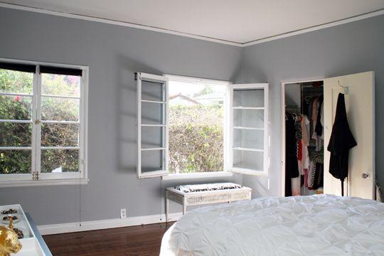 Benjamin Moore Pelican Grey Living Room Family Room Pinterest Grey Walls House Tours
