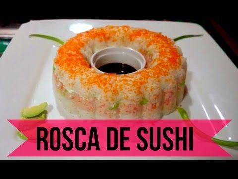 Rosca de SUSHI! Receta facil y riquisima! - YouTube
