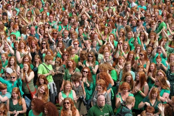Redheads rule the Dutch city of Breda