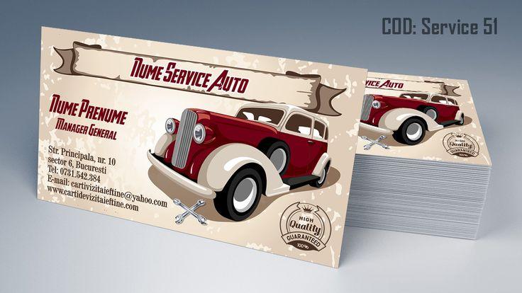 carti de vizita service auto, anvelope, jante, piese auto, auto business cards templates