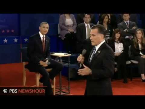Watch the Full Town Hall Debate between Barack Obama and Mitt Romney.  ROMNEY is the clear winner.