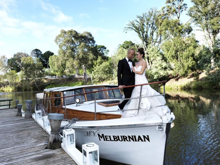 Depart via boat to add a wow factor to your special day!