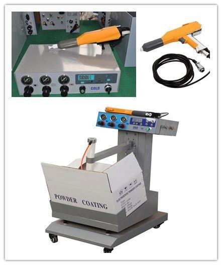 Original box Powder coating unit with vibration, Powder coating Set - COLO powder coating machine