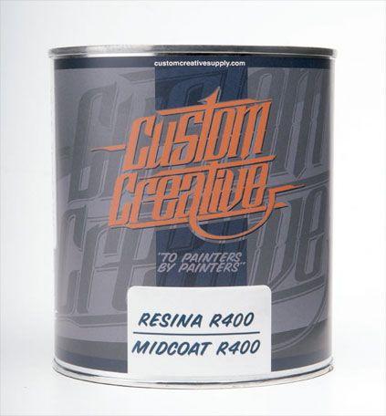 Resina R400 midcoat de Custom Creative.
