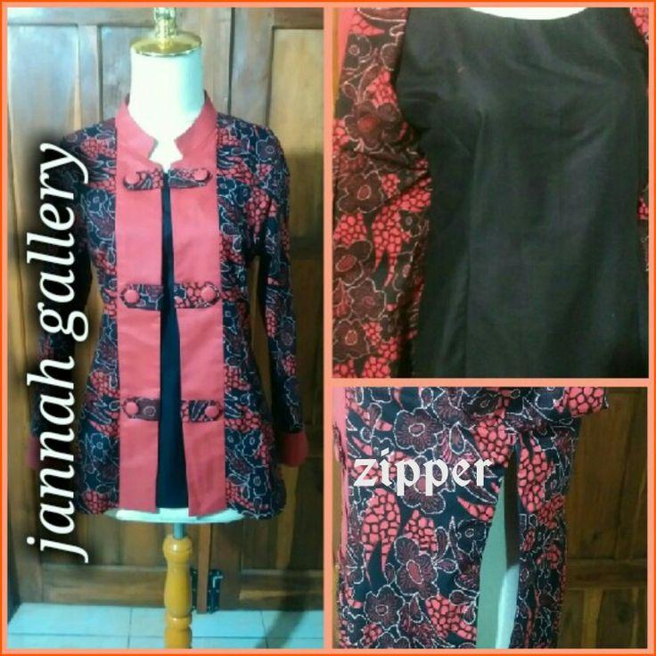 #Black&red batik#made by order jannah gallery#