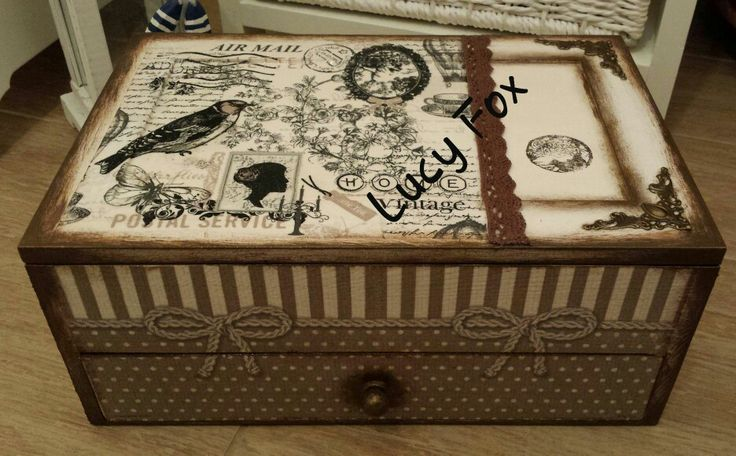 drevená šperkovnica - Wooden jewelry boxes
