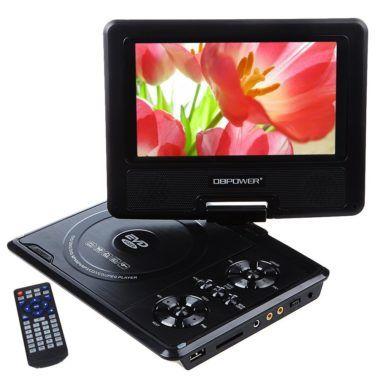 DBPOWER 7.5-Inch Portable DVD Player