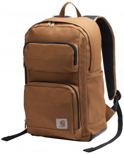 Praktisk og slidstærk - til arbejde, fritid og computertaske!  Carhartt rygsæk Legacy Standard Work Pack, brun (100321-211) - Diverse - BILLIG-ARBEJDSTØJ.DK