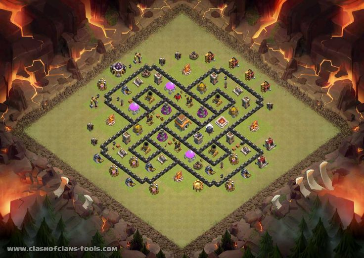 28 best clash of clans images on pinterest clash royale townhall 8 war base clash of clans layout created by elias joulani try it out publicscrutiny Image collections