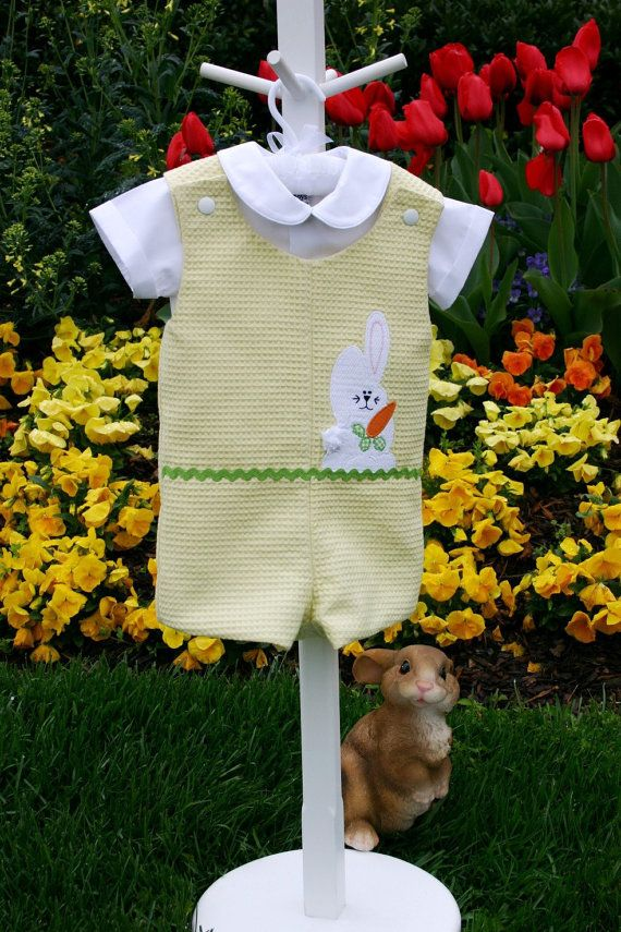 Hey, I found this really awesome Etsy listing at https://www.etsy.com/listing/75959350/baby-boy-outfit-romper-jon-jon-pattern