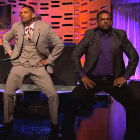 "Watch Will Smith rap ""The Fresh Prince of Bel-Air"", reunite with Carlton"