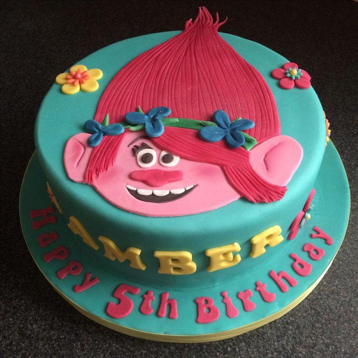 Trolls cake Poppy