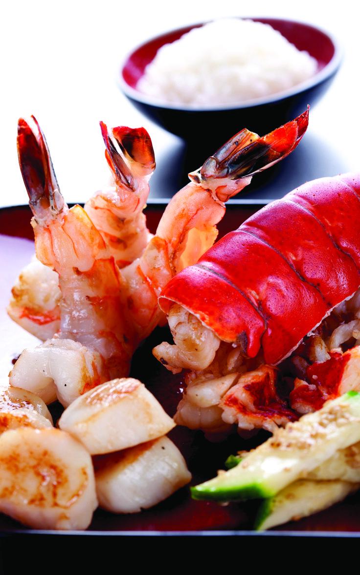 benihana hibachi colossal shrimp