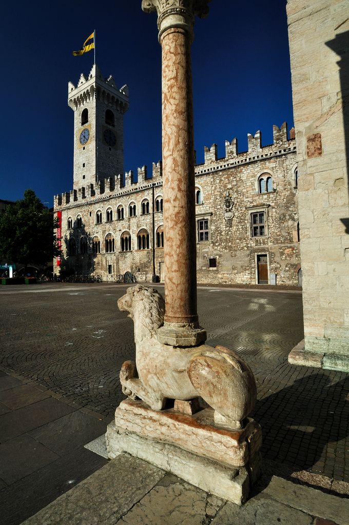 Palazzo Pretorio, Trento, Trentino province, Trentino alto Adige region .