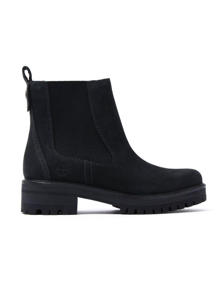 Timberland Women's Courmayeur Valley Chelsea Boots – Black