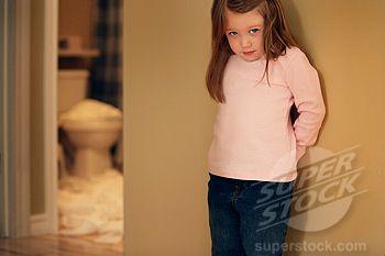 Child feeling guilty