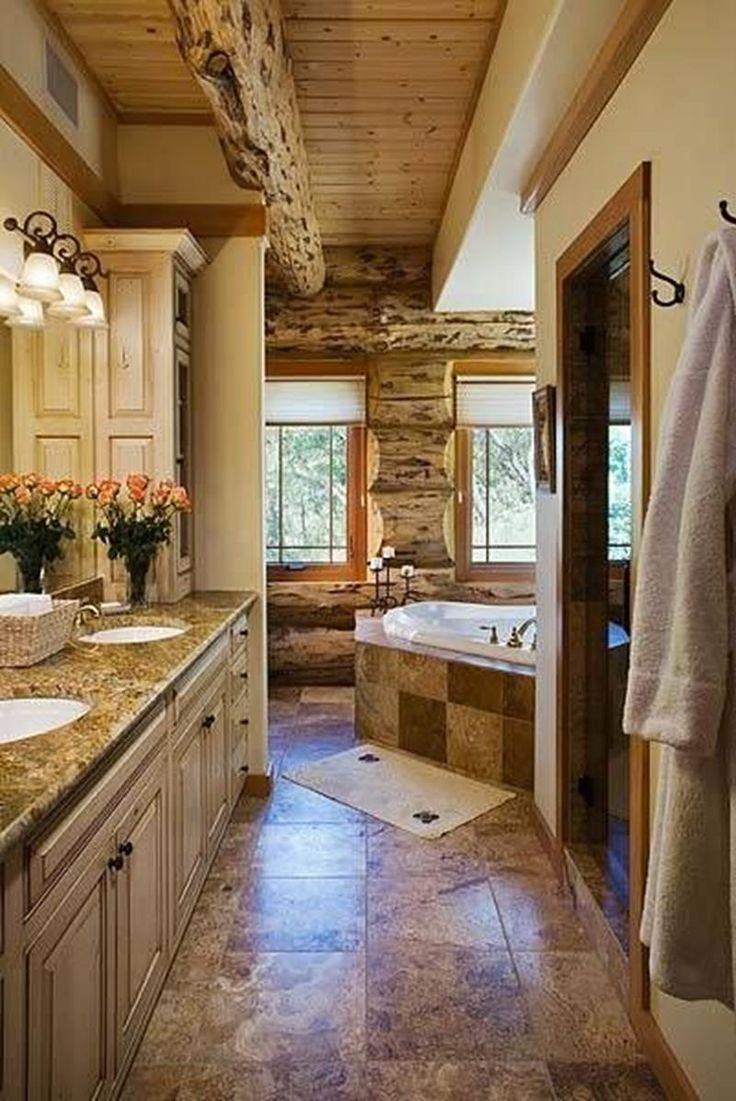 Best 25+ Log cabin bathrooms ideas on Pinterest