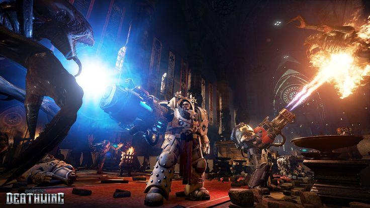 Updated Look At Three Upcoming Games Workshop Adaptations Space Hulk Deathwing Games Workshop Hulk