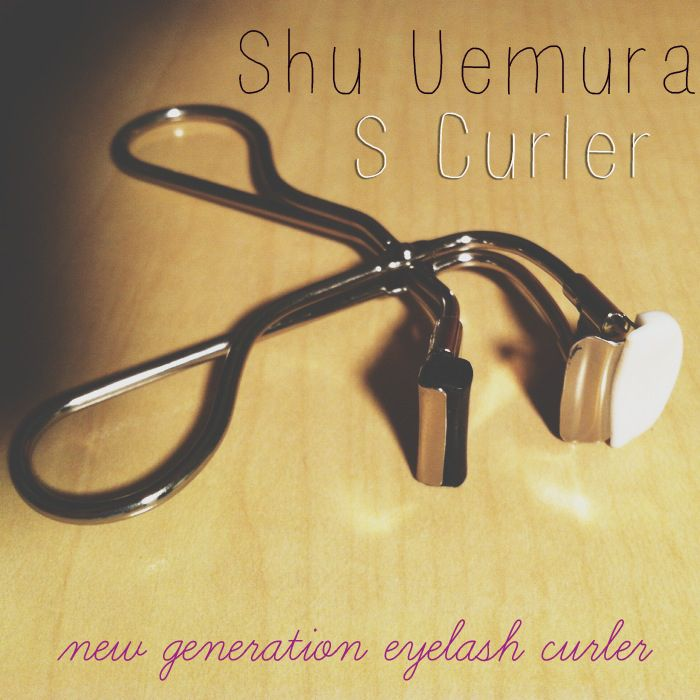 Shu Uemura's new S Curler They make the best eyelash curlers...totally worth the price.