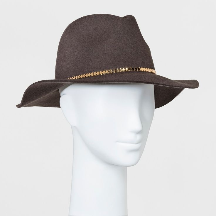 Women's Rancher Hat A New Day Gray One Size