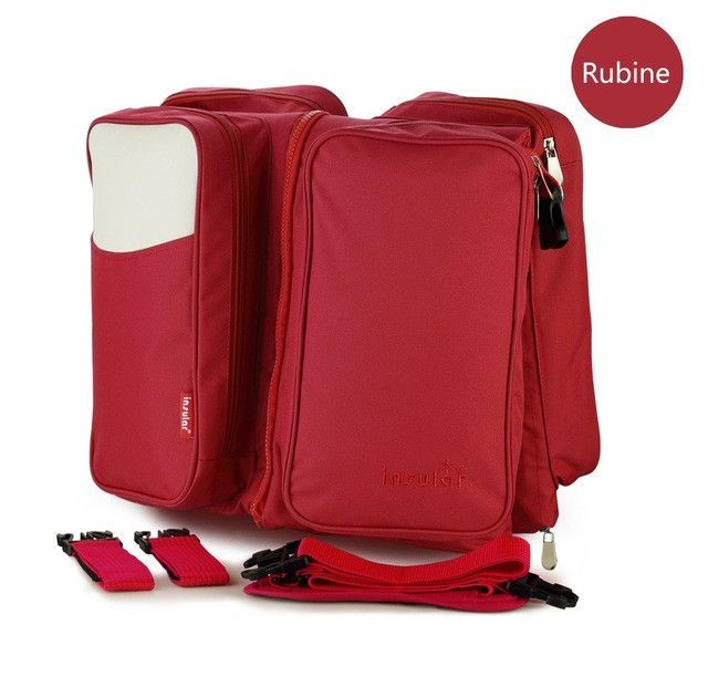 Portable Baby Bed Crib - Folding Traveling Baby Diaper Bag Infant Safety Bag Cradles