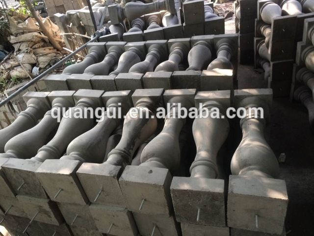 Source Factory sales high quality durable outdoor customized concrete GFRC railing Baluster on m.alibaba.com