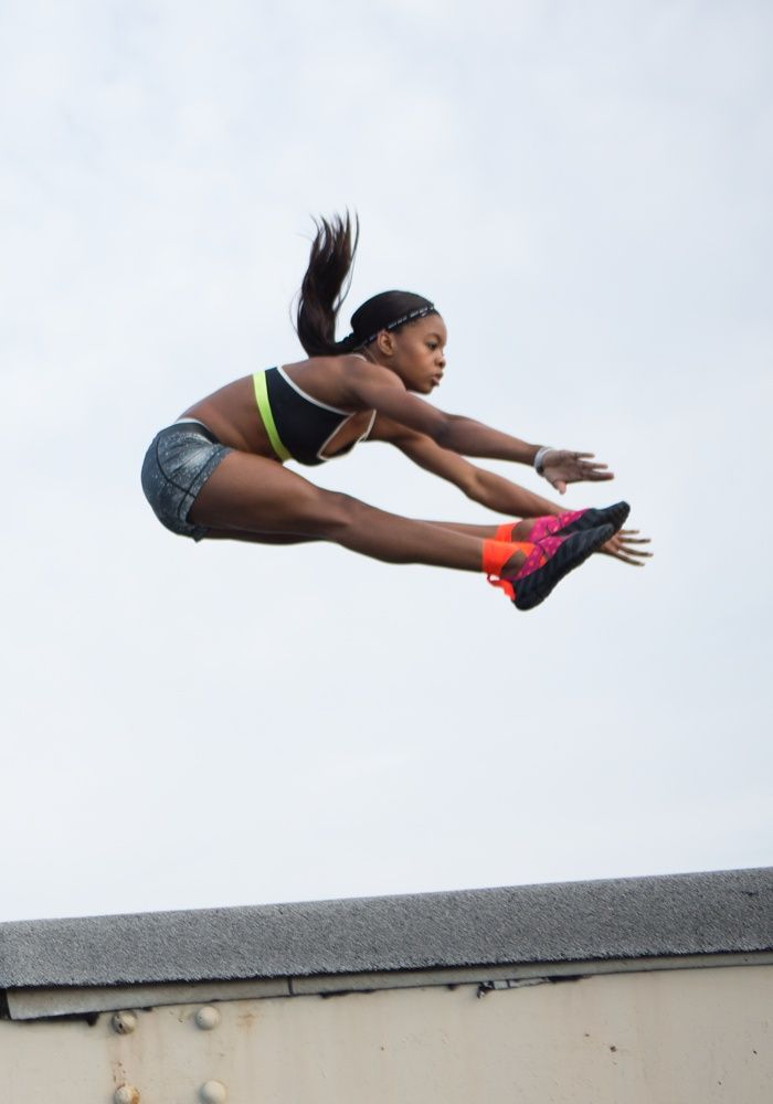 Gabby Douglas joins Nike Training Club. #ntc #nike #gymnastics #train