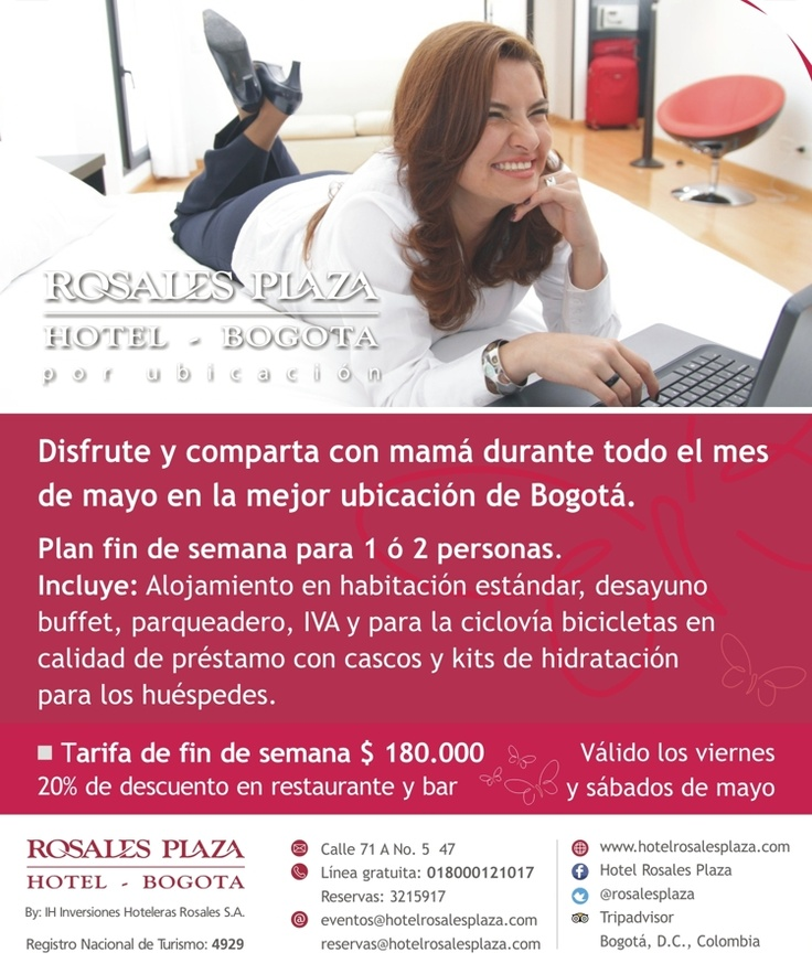 Te traemos el mejor plan para celebrar el día de la madre en Bogotá