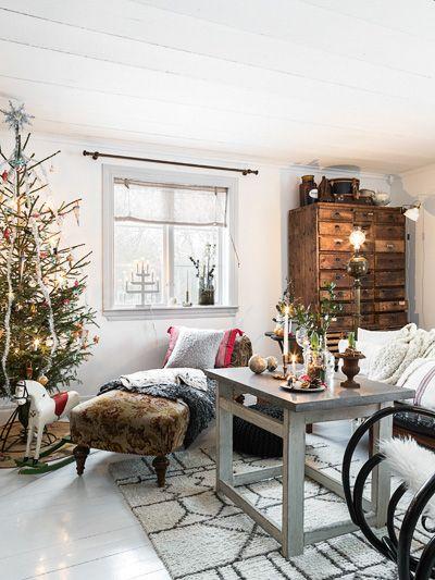 JULREPORTAGE: En gammaldags jul från den småländska skogen - Lantliv 12/2015   Anna Truelsen inredningsstylist